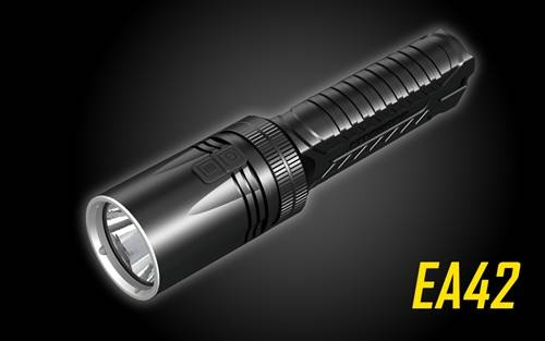 NITECORE EA42 1800 Lumen Long Throw 4xAA Searchlight Flashlight