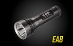Nitecore EA8 Caveman 900 Lumen LED Flashlight - Uses 8x AA