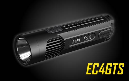 NITECORE EC4GTS 1800 Lumen Unibody Long Throw Search Flashlight