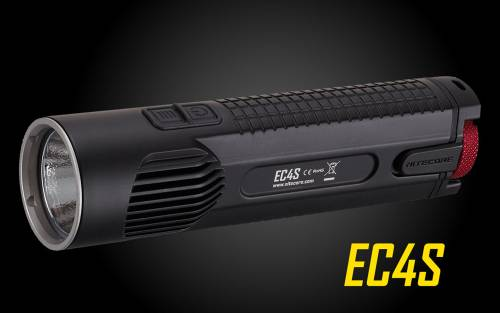 Nitecore Explorer EC4S Die-Cast Cree XHP50 LED Flashlight - 2150 Lumen