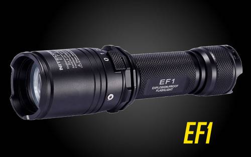 NITECORE EF1 Explorer LED Flashlight 830 Lumen