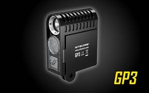 Nitecore GP3 360 Lumen CREE XP-G2 LED USB Rechargeable GoPro Camera Light