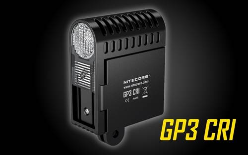 Nitecore GP3 CRI 270 Lumen CREE XP-G2 LED USB Rechargeable GoPro Camera Light