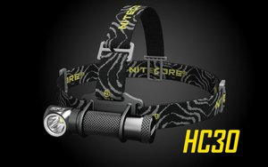 Nitecore HC30 Super Bright Compact LED Headlamp - 1000 Lumen