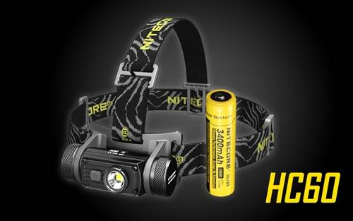 Nitecore HC60 1000 Lumens LED Headlamp