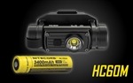 Nitecore HC60M 1000 Lumen NVG Mountable Rechargeable Tactical Headlamp