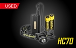 NITECORE HC70 1000 Lumen LED Headlamp with External Battery Pack