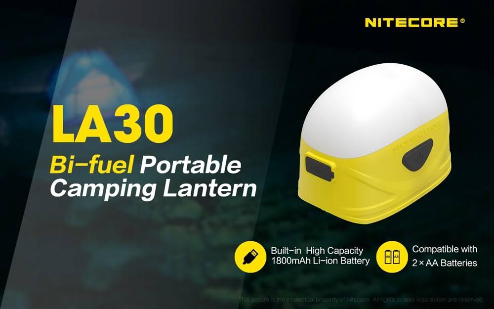 「Nitecore LA30 Bi-Fuel Camping Lantern」の画像検索結果