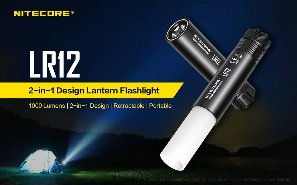 Nitecore LR12 2-in-1 LED Lantern And Torch
