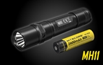 NITECORE MH11 1000 Lumen USB-C Rechargeable Flashlight