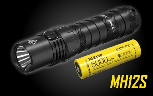 NITECORE MH12S 1800 Lumen USB-C Rechargeable Flashlight