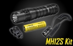NITECORE MH12S 1800 Lumen USB-C Rechargeable Flashlight Kit