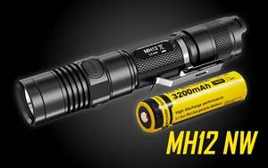 Nitecore MH12 Neutral White 1000 Lumens USB Rechargeable LED Flashlight