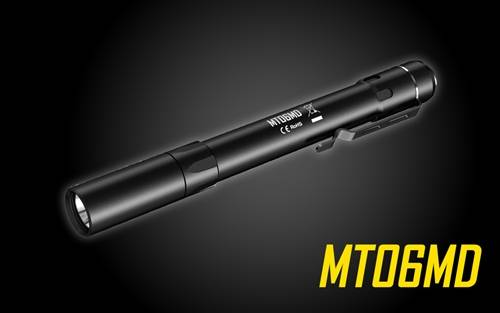 Nitecore MT06MD 180 Lumen Nichia 219B LED Pen Flashlight