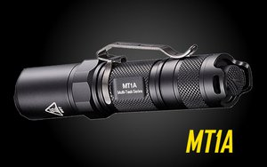 Nitecore MT1A 180 Lumen EDC LED Flashlight, use 1x AA Battery