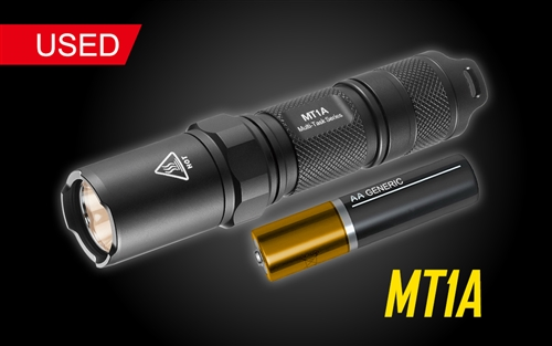 Nitecore Multi-Task MT1A LED Flashlight - Used