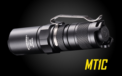 Nitecore MT1C 345 Lumen EDC LED Flashlight, use 1x CR123A