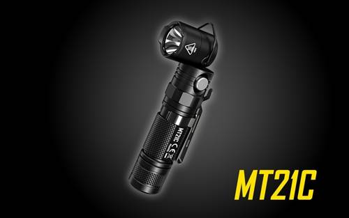 NITECORE MT21C 1000 Lumen 90 Degree Tiltable Head Multifunction LED Flashlight for Work and Everyday Carry
