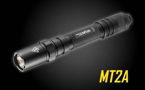 Nitecore MT2A 345 Lumen LED Flashlight - Use 2x AA