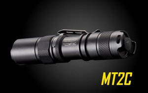 Nitecore MT2C 390 Lumens LED Flashlight - Uses 2x CR123A