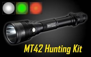 NITECORE MT42 1800 Lumen LED Flashlight Hunting Kit