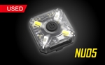 Nitecore NU05 Red & White LED USB Rechargeable Headlamp & Caution Light