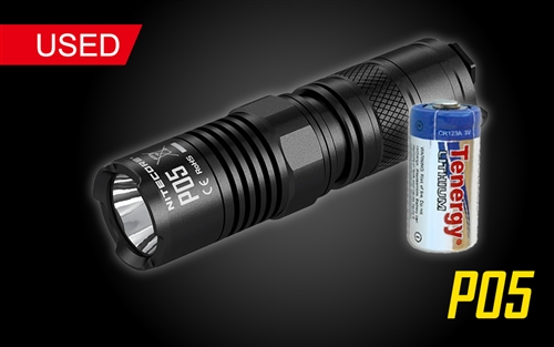 NITECORE Precise P05 LED Flashlight
