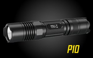 Nitecore P10 800 Lumen Strobe Ready Tactical Flashlight