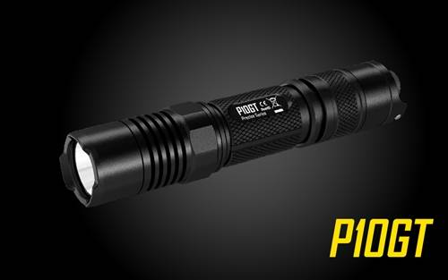 Nitecore P10GT 900 Lumen Tactical LED Flashlight