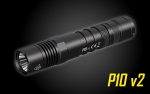 NITECORE P10 V2 1100 Lumen Long Throw Tactical Flashlight with Hardshell Holster