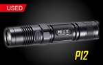 Nitecore P12 Precise Series Compact LED Tactical Flashlight -1000 lumen - Used
