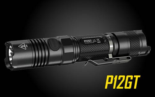 NITECORE P12GT 1000 Lumen Long Throw Compact Tactical Flashlight