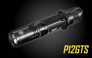 NITECORE P12GTS 1800 Lumen LED Tactical Flashlight