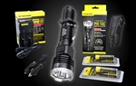 Nitecore P16 TAC 1000 Lumen Compact Tactical Flashlight Rechargeable Kit