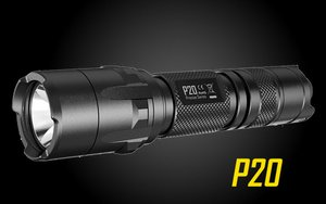 Nitecore P20 800 Lumen Strobe Ready Tactical Flashlight