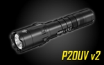 NITECORE P20UV V2 1000 Lumen Long Throw Tactical Flashlight with Custom Moulded Holster