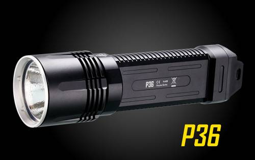 Nitecore P36 2000 Lumens Cree MT-G2 LED Flashlight