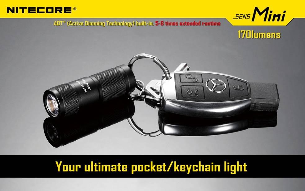 Nitecore SENS MINI 170 Lumen ADT Pocket Flashlight cbe8f28ebc52