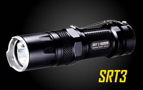 Nitecore SRT3 Defender 550 Lumen SmartRing LED Tactical Flashlight