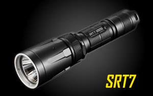 Nitecore SRT7 Revenger 960 Lumen SmartRing LED Tactical Flashlight
