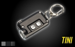 NITECORE TINI 380 Lumens Mini Metallic Micro USB Rechargeable Keychain Light