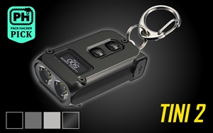 NITECORE TINI 2 500 Lumen USB-C Rechargeable Keychain Flashlight