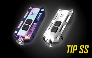 NITECORE TIP 2017 SS USB Rechargeable LED Keychain Light