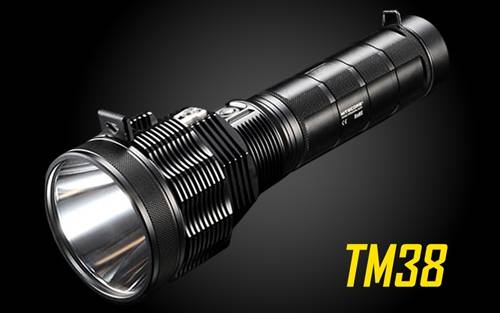 NITECORE TM38 Tiny Monster 1800 Lumen Long-Throwing Searchlight LED Flashlight