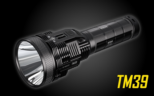 NITECORE TM39 5200 Lumen 1640 Yard Long Throw Flashlight