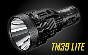 NITECORE TM39 Lite 5200 Lumen 1640 Yard Long Throw Flashlight