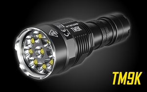 NITECORE TM9K 9500 Lumen 5000mah USB-C Quick Charge Rechargeable LED Flashlight