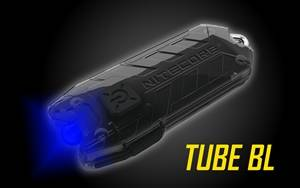 Nitecore Tube BL USB Rechargeable Blue LED Keychain Light