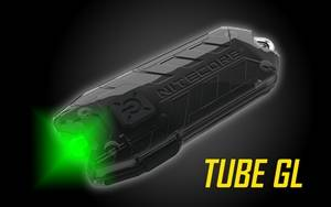 Nitecore TUBE GL USB Rechargeable Green LED Keychain Light