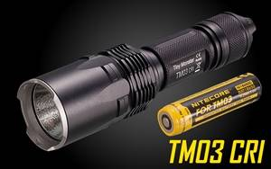 NiteCore TM03 CRI 2600 Lumen LED Flashlight